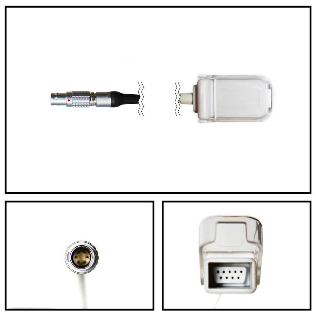 Cable extención nonin lemo a db9 spo2
