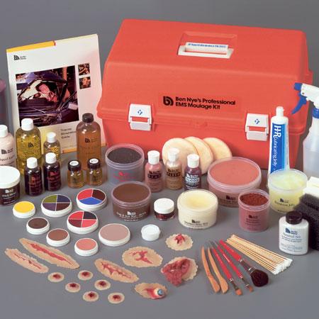 Kit Profesional de Moulage EMS con estuche rígido rojo