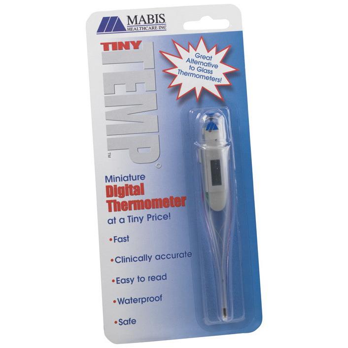 Termómetro TinyTemp ™, blanco, oral / rectal MABIS®