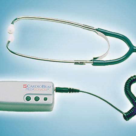 Doppler de flujo sanguíneo con estetoscopio CardioBeat de MedaSonics
