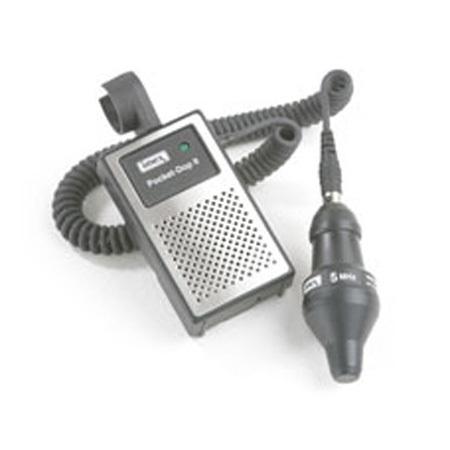 Doppler de mano con sonda obstétrica de 3 MHz Nicolet Pocket-Dop II
