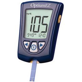 Kit de monitoreo de glucosa en sangre, volumen de muestra 0.6μL Optium EX