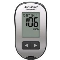 Medidor de glucosa en sangre, volumen de muestra 0.6μL Accu-Chek Performa