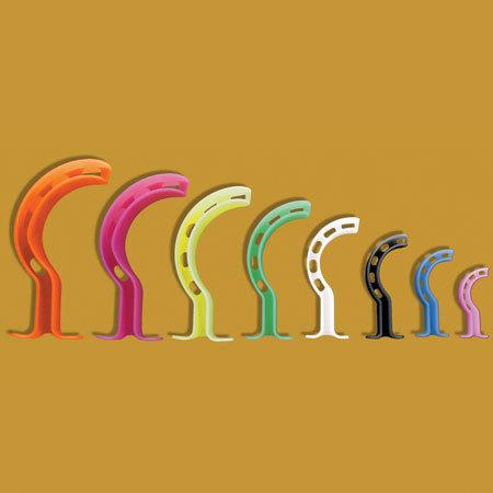 Vías aéreas codificadas por colores Berman