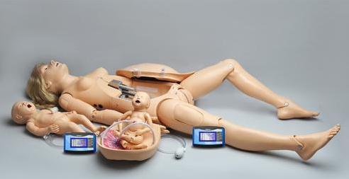 NOELLE® Simulador de parto con PEDI® Blue Neonato