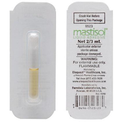Vendaje adhesivo líquido Mastisol  vial de 2/3 cc