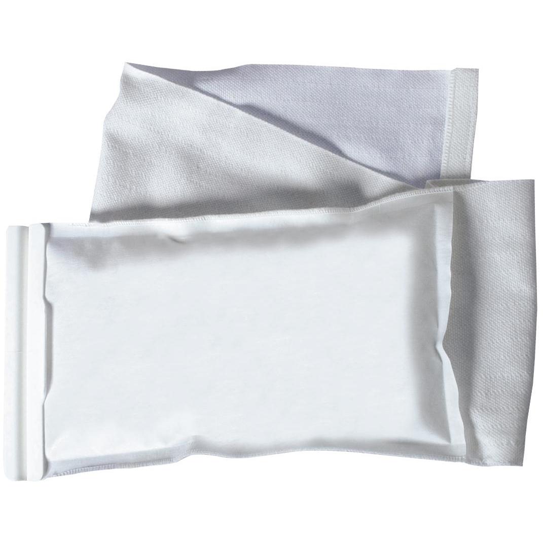Bolsa de hielo con correa elástica, 4 in x 8.5 in