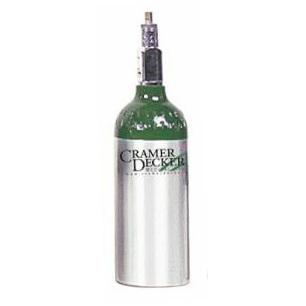 Cilindro de oxígeno médico, aluminio, tamaño M4
