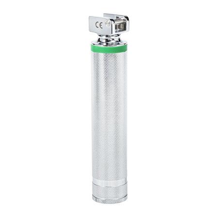 Laringoscopio GreenLine / D, Fibra Óptica, Cromado, 2 C Baterías, MED Curaplex