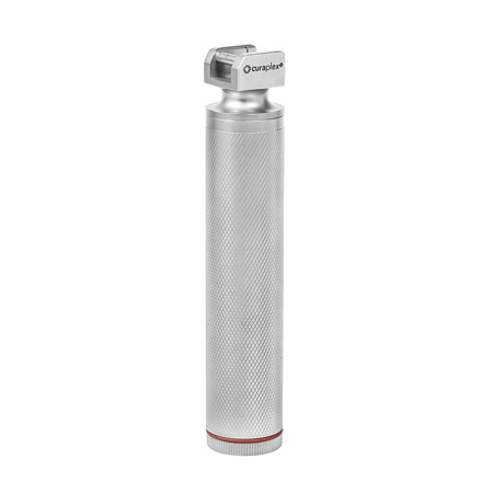 Mango de laringoscopio Curaplex Select, reutilizable, LED, resistente al agua