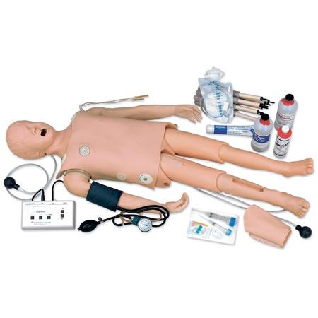 Maniquí infantil CRISIS, capacidades completas de entrenamiento PALS