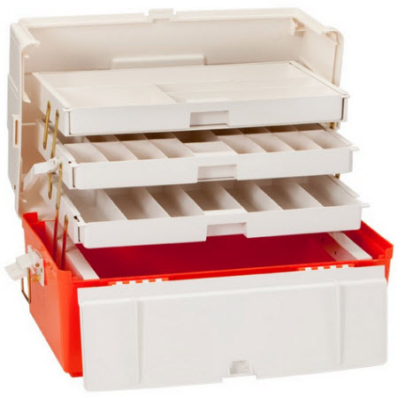 Trauma Box, 3 Tray, Extra Large