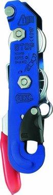 Descensor de frenado azul Petzl D09
