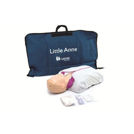 Maniquí de entrenamiento AED Little Anne