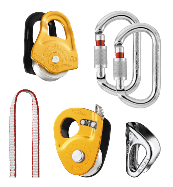 Kit de rescate de grietas Petzl K25 SC3