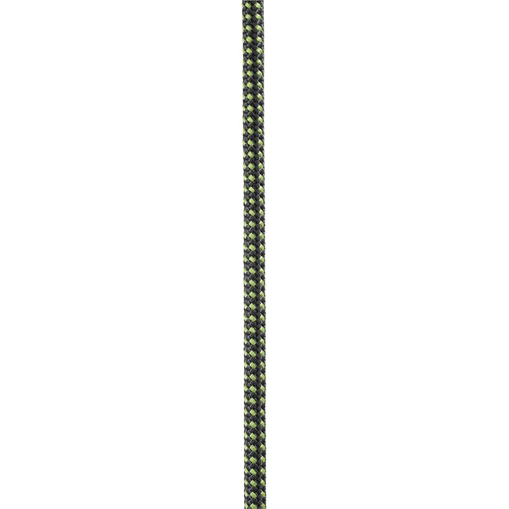 Carrete de cuerda semiestática de 7mm x 120m, verde/negro Petzl R47AG 120