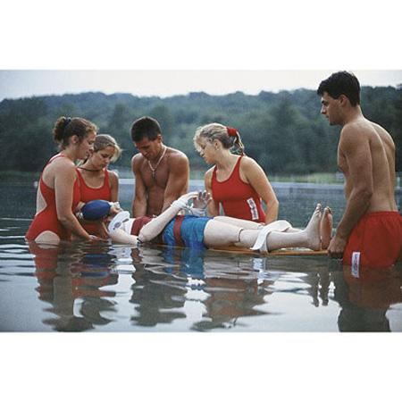 Maniquí de Rescate acuático Adulto (45lbs) con Capacidad CPR