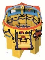 Balsa salvavidas OFFSHORE PLUS RAFT WINSLOW SUPER-LIGHT