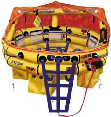 BALSA SALVAVIDAS OFFSHORE RAFT WINSLOW ULTRA-LIGHT