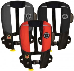 Chaleco Automático Inflable Hidrostático  Mustang Pfd