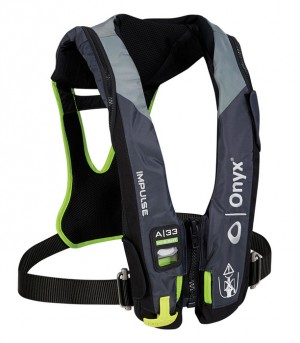 chaleco adulto ZHIK ONYX IMPULSE A-33 IN-SIGHT AUTO/HARNESS PFD