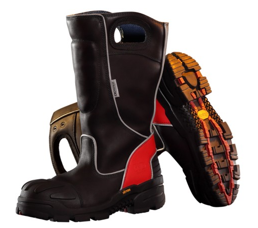 Bota estructural Fire-Dex Leather Pull-On, NFPA 1971