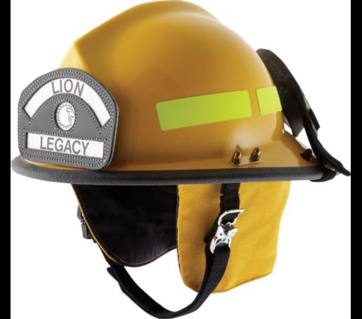 casco moderno de perfil bajo, NFPA Lion Legacy 5
